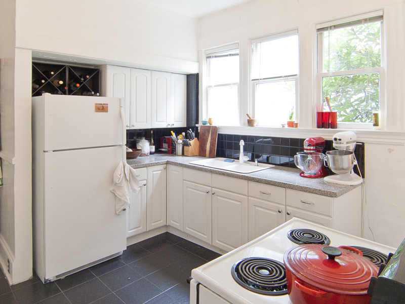 kitchen nw portland apartment rentals 2455 NW Northrup A